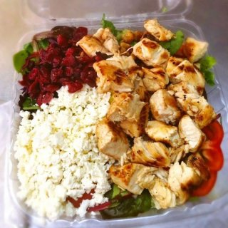 Image of LPK's Greek Salad With Seasoned Grilled Chicken
